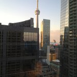 CN Tower from hotel room
