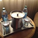 Hilton Tucson East.  Yes, we charge big for this water
