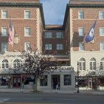 The General Francis Marion Hotel in downtown Marion VA