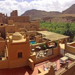 View of Kasbah Ellouze from the roof