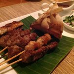 Satay at the Garden Cafe