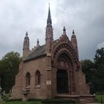 Busch Mausoleum at Bellefontaine Cemetery in St. Louis, MO.