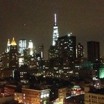 Rooftop view of New World Trade Center