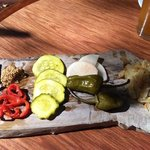 house cured pickles