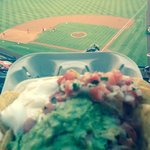 Nachos and view