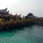 Φωτογραφία: Mabul Water Bungalows