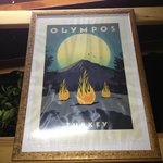 Poster or Olympos and the fires of Chimera