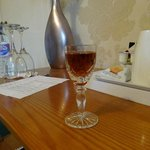 Complimentary Sherry
