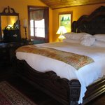 The bedroom of Sanco Pansy cottage