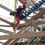 High ropes challenge is a must!