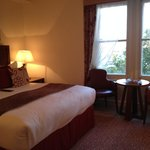 Executive Room with king bed and view of Thames River - worth the extra cost