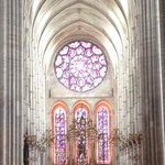 the magnificent Laon cathedral