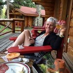 Relaxing at Alpine Village