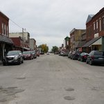 Downtown Jamesport, Missouri....great little town!