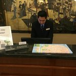 Front Desk w/5% Cash Back Loyalty Program & Green Benefits
