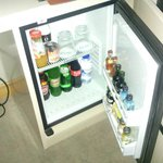 mini bar (payant...)