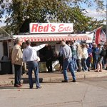 Line at Red's!!