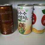 free can drinks which the hotel refills daily