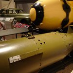 Full-size replicas of the bombs dropped on Japan.