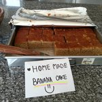 Lovely homemade banana cake