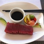 Awesome Tuna sashimi at Vue