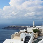 Oia from our balcony