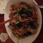 Linguine and clams...lovely sauce