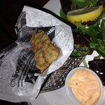 Fried oysters...OUTSTANDING!!!