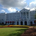 A beautiful early fall afternoon at the Greenbrier.