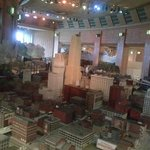A big hit with my 7-year-old son was the vast model train room, which included the sites of Cinc