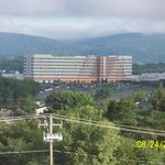 View of Mohegan Sun Hotel & Casino from our hotel!