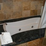 Jetted tub in Penthouse room
