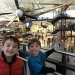 Happy Kids for going to the Air and Space museum!