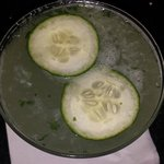 Cucumber Martini / The best part of The Maxine Hotel