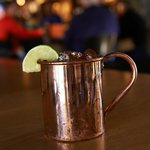 Moscow Mule at the Park Avenue Pub