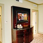 Room TV and Cabinet