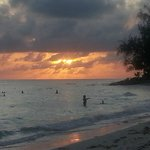 Sunset at Rockley\Accra Beach