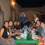 dinner in ahmed guesthouse
