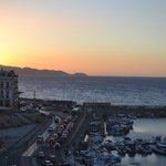 Sunset in Heraklion