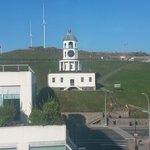 View of Citadel Hill from Room