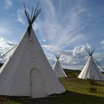 Tepee lodging