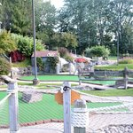Part of the putt-putt course