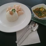 Soto Ayam - chicken soup with rice