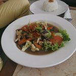 Cap Cay - mixed fried vegetables