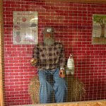 Johnny Appleseed talks to you at Milburn's