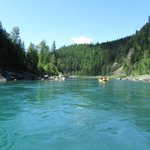 Middle Fork of the Flathead River, Glacier Raft Company