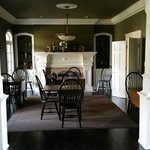 the fromal dining room where you are served your breakfast