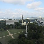 View from 1104, Marion Square, Ravenel Bridge