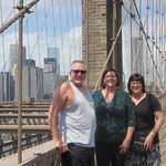 Great walk on the Brooklyn Bridge