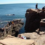 Top of Thunder Hole